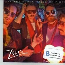 (CU914) Zeus, Are You Gonna Waste My Time? - 2012 DJ CD