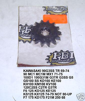 1973 1974 1975 Kawasaki MC1 /& MC1M 90 13 Tooth Front Sprocket