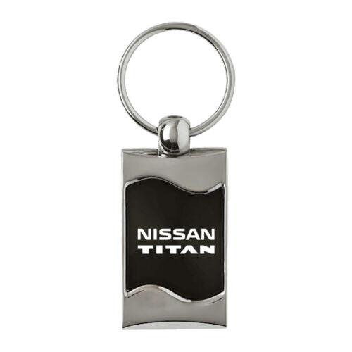 Details about  /Nissan Titan Keychain /& Keyring Black Wave