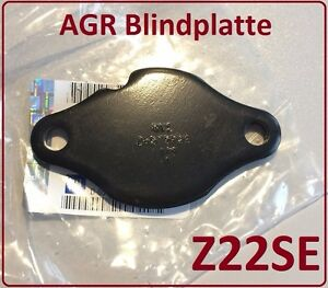 ORIGINAL OPEL ZAFIRA A X16XEL    Blinddichtung AGR Blindplatte