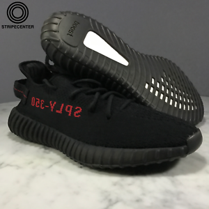 100% authentic bae63 76b5f Details about adidas YEEZY BOOST 350 V2 'BRED' - CBLACK/CBLACK/RED - CP9652