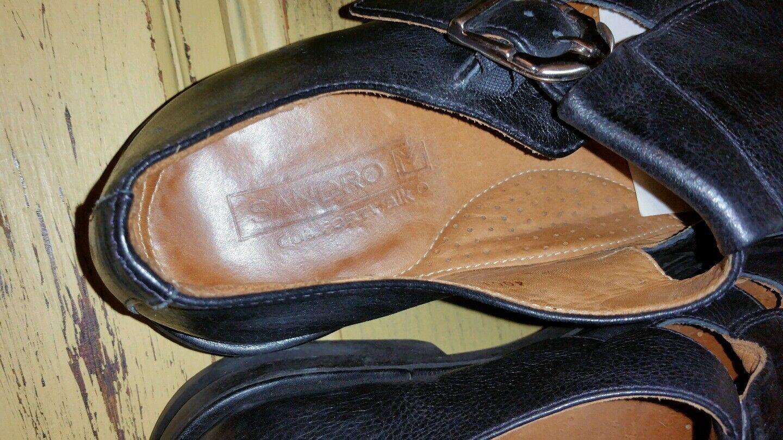 SANDRO M COMFORT WALK LEATHER CLOSE TOE SANDALS CASUAL CASUAL RESORT SCARPE 10.5 CASUAL SANDALS e8adf8