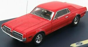 GENUINE-FORD-PARTS 1/43 MERCURY   COUGAR COUPE 1968   CARDINAL RED