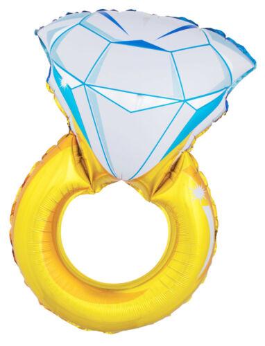 """XL folienballon /""""anillo de diamantes/"""" para la boda 105 cm-globo compromiso jga"""