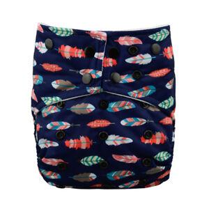 Alva Baby Colored Snaps Cloth Diaper Double Gusset Pocket Nappy Ebay