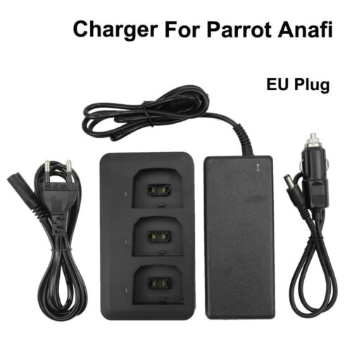 Für Papagei ANAFI Drohne Batterien Balance Fast Charger Adapter /&Car Charger