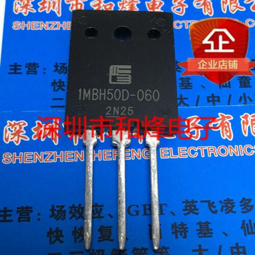 10PCS 1MBH50D-060 TO-264