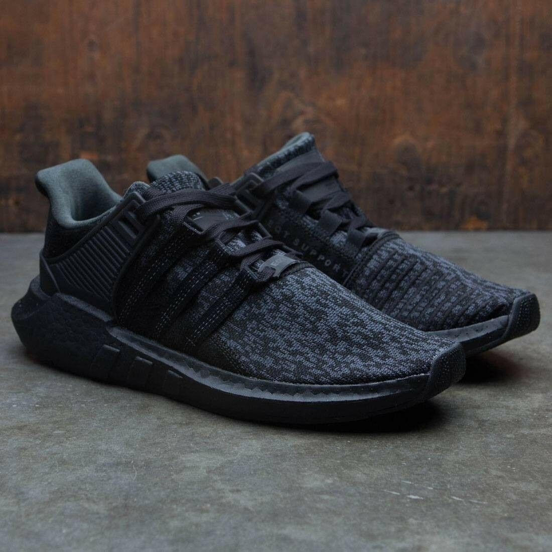 Adidas Ultra Boost 93 17 EQT Support Triple Black Black Black Size 14. BY9512 yeezy nmd fb0e0d