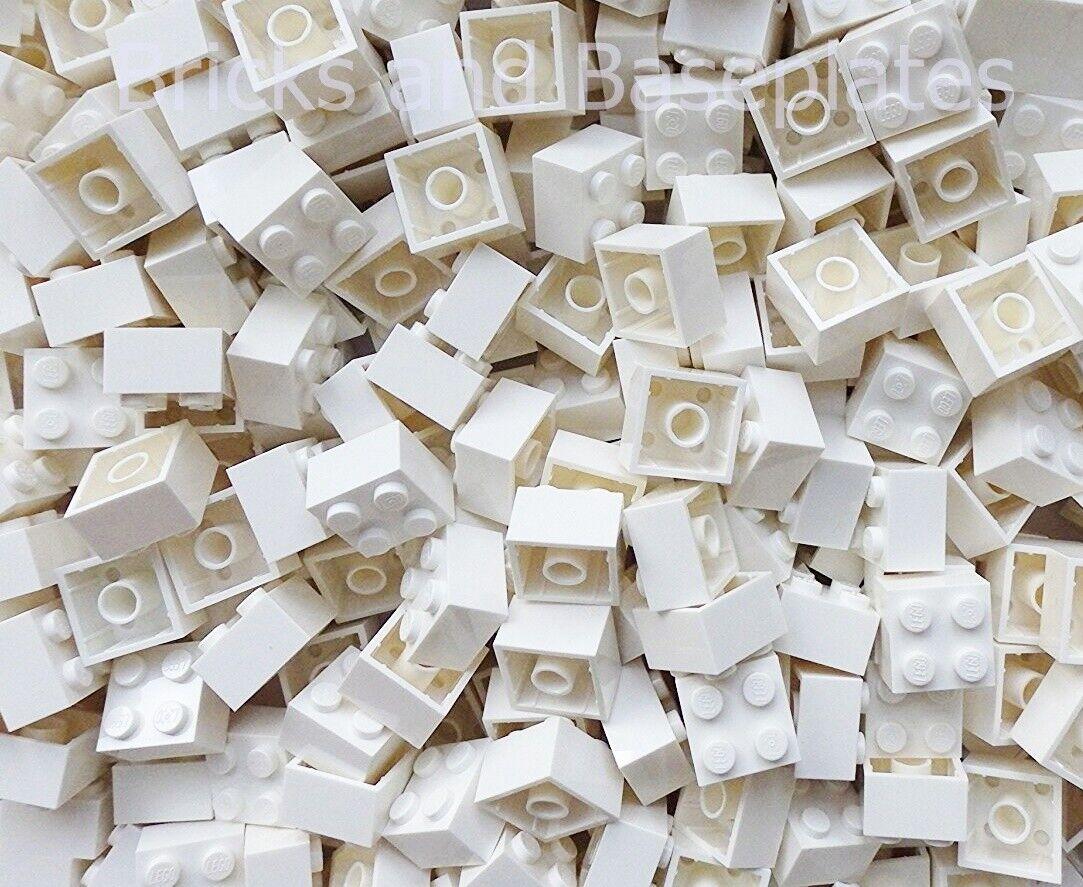 Briques Lego 500 X blanc 2x2 Pin de Brand New Sets envoyés dans un scellé sac
