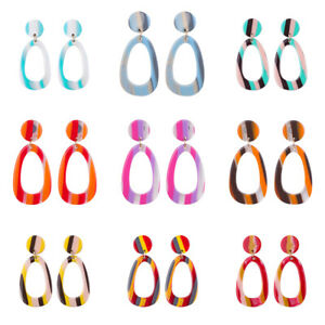 Fashion-Women-Acrylic-Earring-Cheap-Geometric-Drop-Dangle-Earrings-Jewelry-Gifts