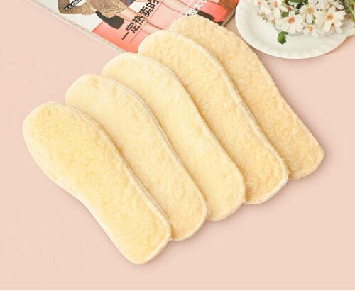 Soft 1 Pair Men Women Winter Boot Shoe Warm Comfortable Fleece Thermal Insoles