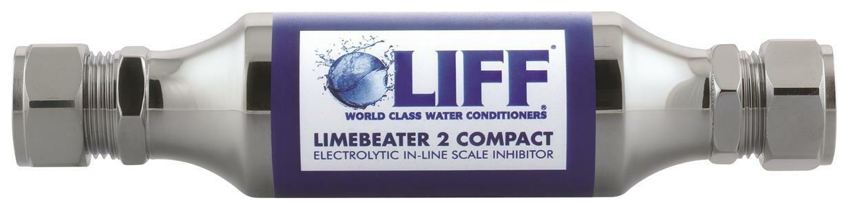 22MM LIFF LIMEBEATER 2 COMPACT COMPRESSION ELECTROLYTIC IN-LINE SCALE INHIBITOR