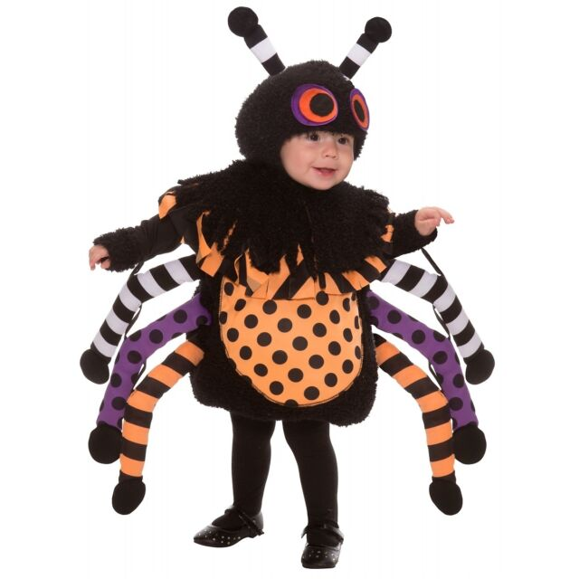 Itst Bitsy Spider Costume Baby/Toddler Cute Halloween Fancy Dress