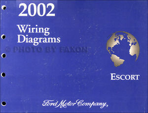 2002 ford escort and zx 2 zx2 wiring diagram manual oem rh ebay co uk ford escort zx2 wiring diagram zx2 fog light wiring diagram