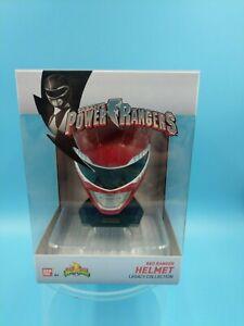 neuf jouet bandai saban/'s power rangers red ranger helmet legacy collection