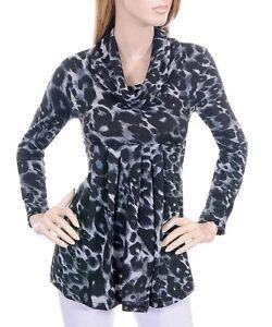 Gray Leopard Blouse 91
