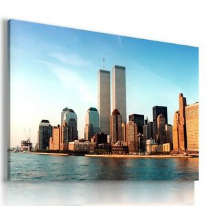 NEW-YORK-CITY-View-Canvas-Wall-Art-Picture-Large-SIZES-L61-X