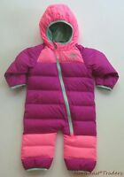 $150 North Face Infant Girls Lil Snuggler Down Suit 3-6 Months Snow Bunting