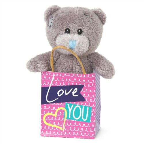 """Me to You Love You 3/"""" Plush In Gift Bag Gifts For Loved Ones Tatty Teddy Bear"""