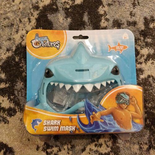 Aqua Creatures Shark Swim Mask Childrens Holiday Swim Mask