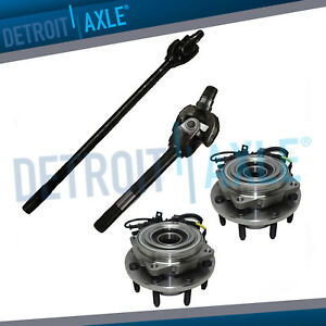 2005-2015 Ford F-350 Super Duty Detroit Axle Dana 60 Axle Models w//4WD Front Driver Side U-Joint Axle Assembly for 2005-2014 Ford F-250 Super-Duty -