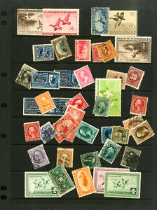 US-Early-Key-Stamp-Selection-Total-catalogue-value-approximately-4-000