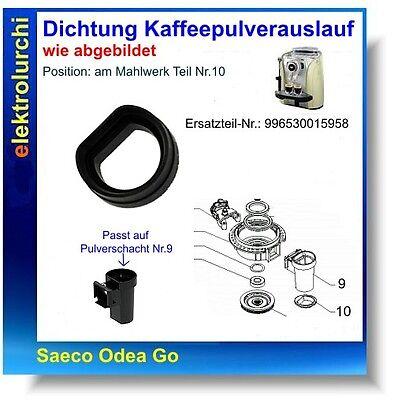 Joint pour le café poudre parcours extérieur pour poudre bac SAECO Odea Go 996530015958
