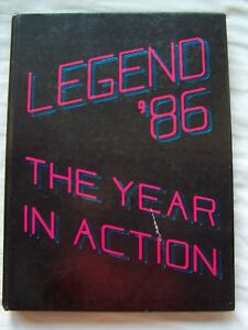 Details About 1986 Grover Cleveland High School Yearbook Portland Oregon Legend