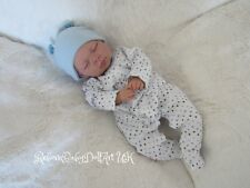 Reborn Baby Boy Doll closed eyes