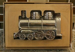 New Pottery Barn Holiday Christmas Train Locomotive Salt