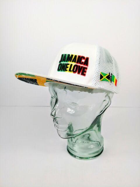 b27e2ba92 BOB MARLEY JAMAICA ONE LOVE MENS SNAPBACK BASEBALL CAP NEW W/O TAGS