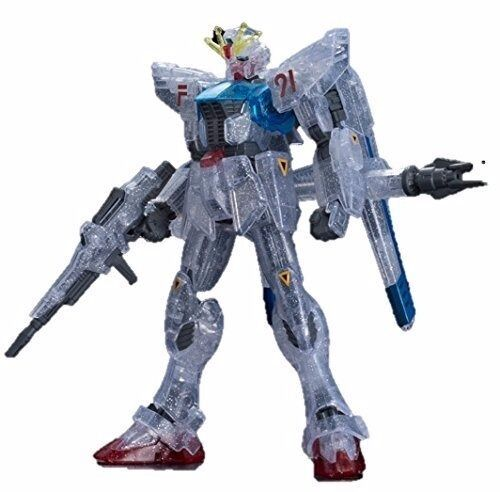 BANDAI HGUC 1 144 GUNDAM F91 CLEAR CLEAR CLEAR Ver Plastic Model Kit Gundam EXPO Limited NEW 5767c4