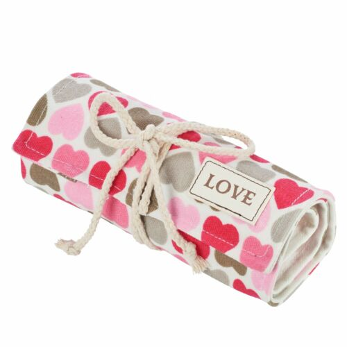 Colored Pencil Canvas Roll Wrap 48 Slot-Adult Coloring Pencil Holder Love