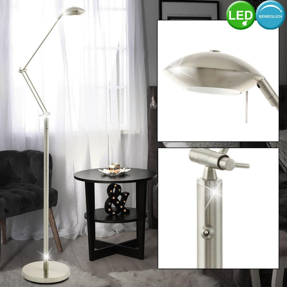 LED Steh Leuchte verstellbar Gäste Zimmer Beistell Beistell Beistell Lese Lampe Stand Strahler   Gemäßigten Kosten     42076d