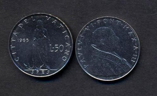 VATICANO 50 Lire 1965 FDC 6.443