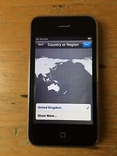 Apple Iphone 3GS 16GB Negro-Con Caja + Paquete De Cargador-Excelente Estado -