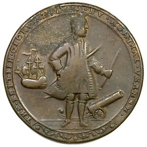 1739-Admiral-Vernon-Betts-Medal
