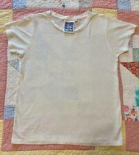 Jungmaven Organic Cotton Hemp Basic  S/S Short Sleeve LOREL White T-Shirt Top