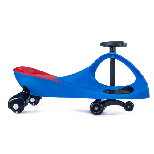 Wiggle Car Ride on Toys With LED LIGHT UP Wheels for Swing Car Kids 2-6 years