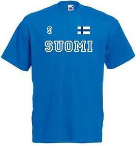 Frankreich France  T-Shirt Trikot Look Team Name /& NR Druck Fußball  EM 2016 N