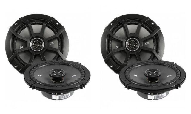 """Kicker 43CSC654 6.5/"""" 4-Ohm 100 Watt Rms Co-Axial Speaker Rear Deck"""
