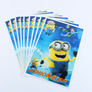 Image Is Loading Minion Kids Hy Birthday Party Bags Loot Bag