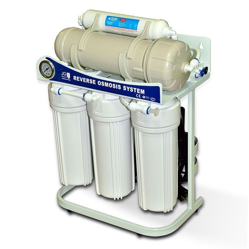 800 GPD Direct Flow RO Reverse Osmosis Water Filter System Plant Water Point 1 1