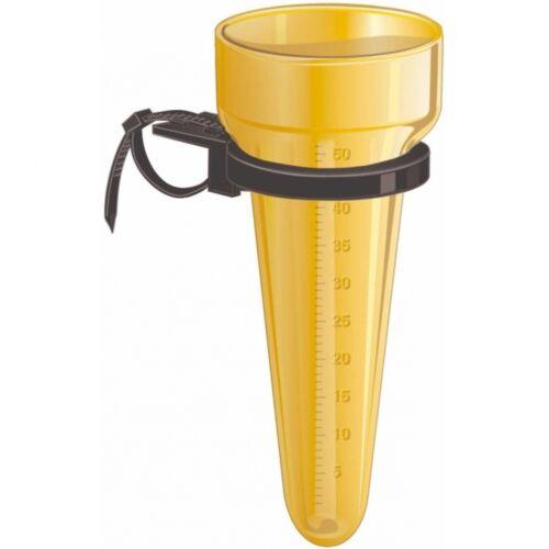 MESTO Regenmesser MONSUN Regenmessgerät mit Universalhalter Niederschlagmesser