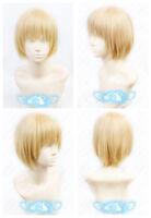 Attack on Titan Armin Arlert Short Warm Blonde Cosplay Anime Wig