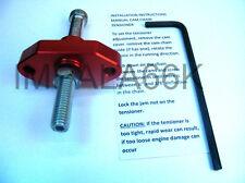 RED MANUAL CAM CHAIN TENSIONER 1991-1993 KAWASAKI ZR750 ZEPHYR 750 ZR 91 92 KT1