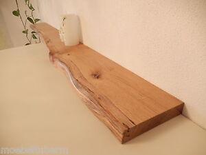 Das Bild Wird Geladen Wandboard Eiche Wild Massiv Holz Board Regal Steckboard