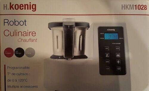 H.Koenig HKM 1028 Küchenmaschine Multikochmixer Multikocher Rührmaschine