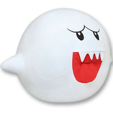 SUPER MARIO XL Plush Boo Ghost NINTENDO PILLOW CUSHION NEW