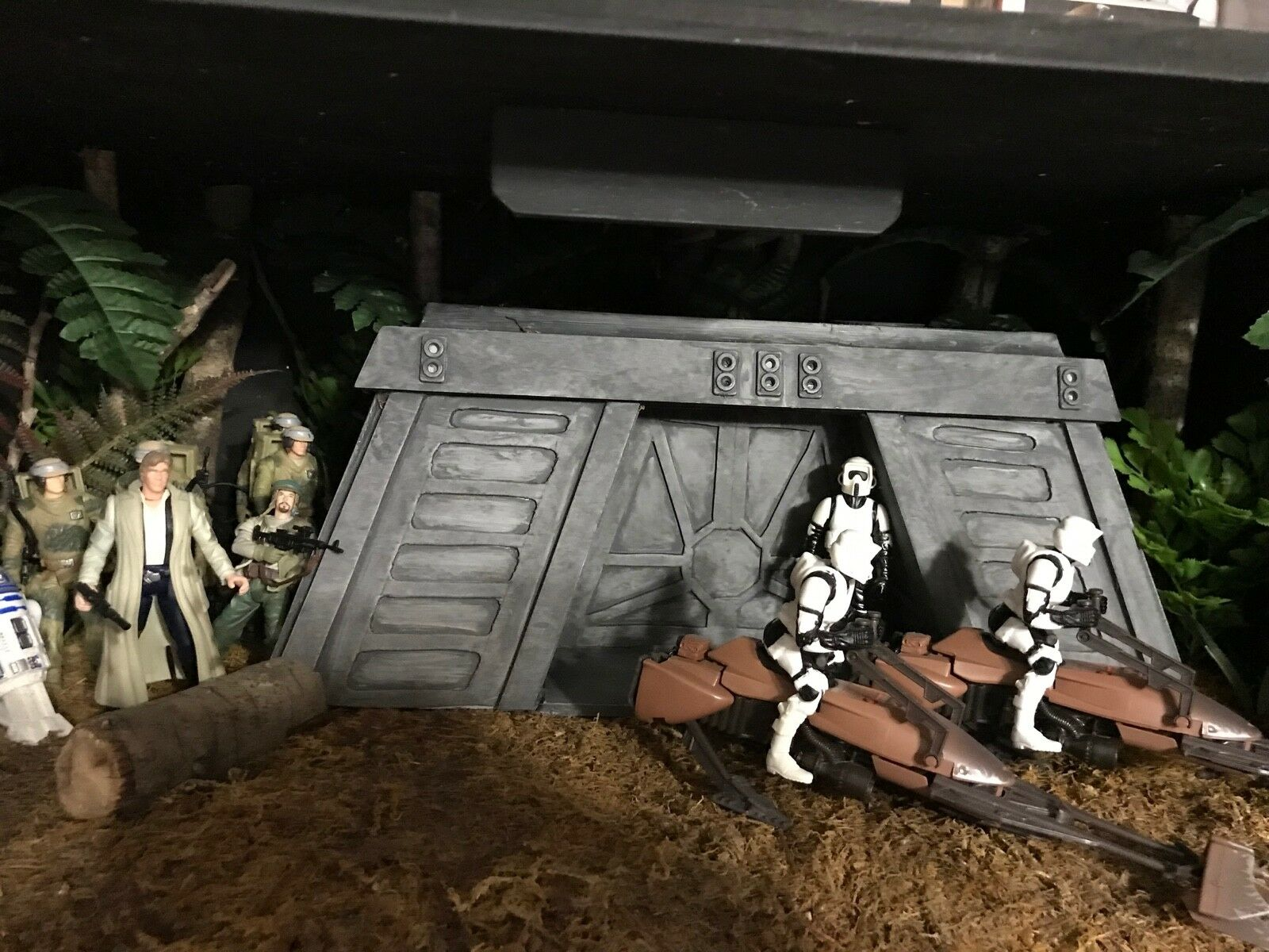 Custom Star Wars Diorama Regreso del Jedi